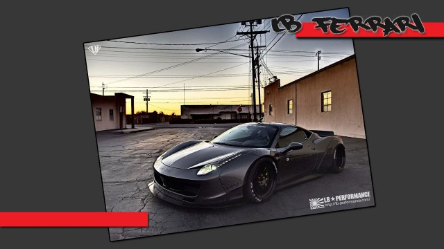 LB Performance Ferrari 458