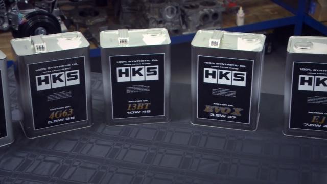 HKS Super Oil Series