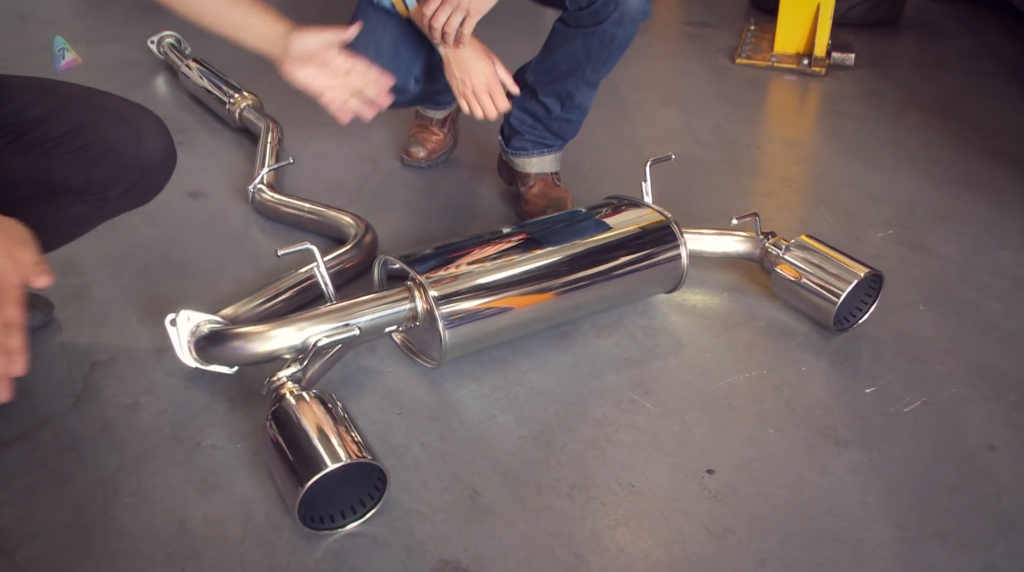 Toyota GT 86 HKS Exhaust